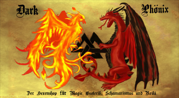 Hexenshop Dark Phönix-Logo