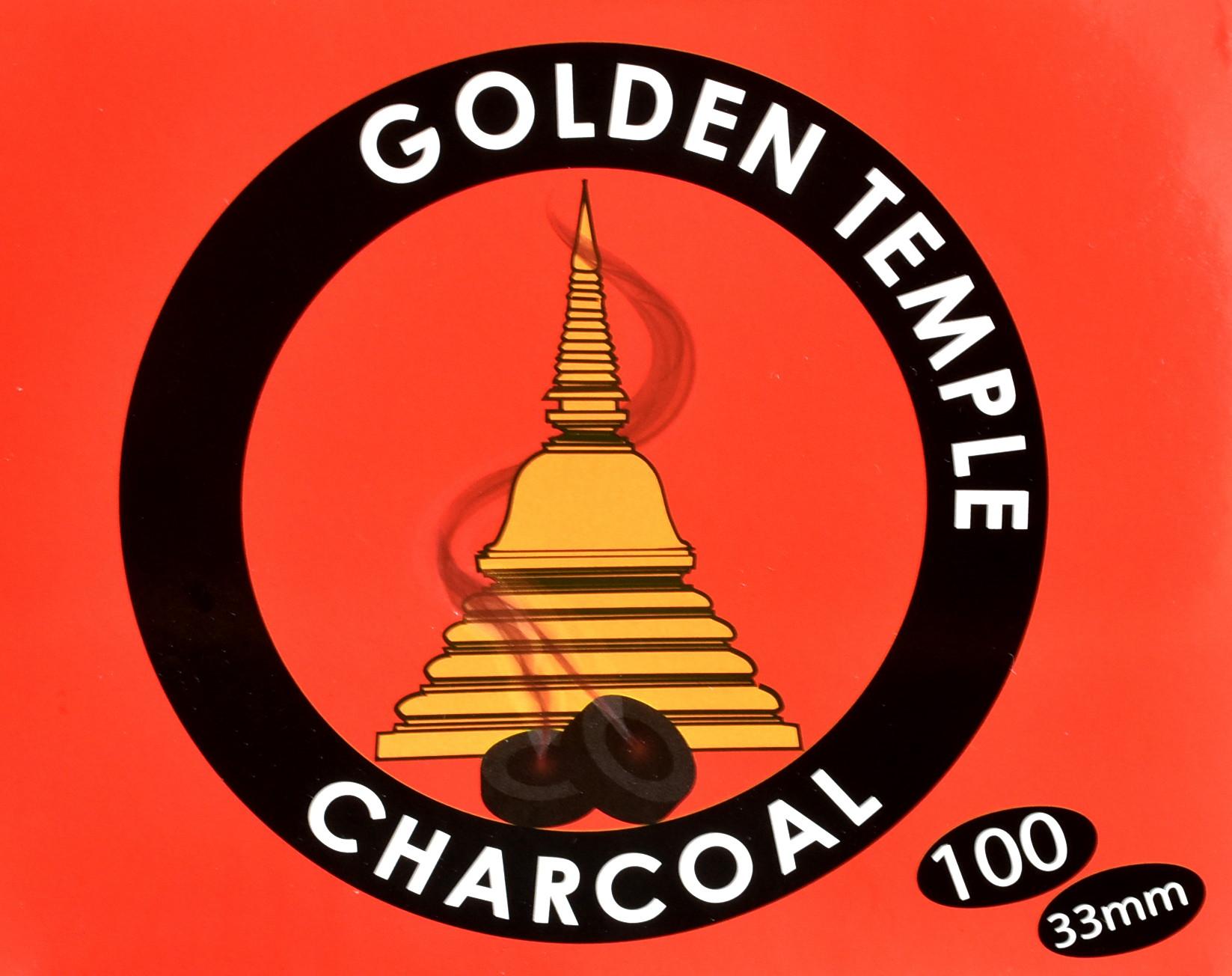 Räucherzange golden