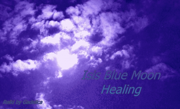 Isis Blue Moon Healing